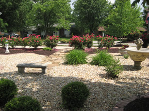 Landscaping in Belleville, Illinois